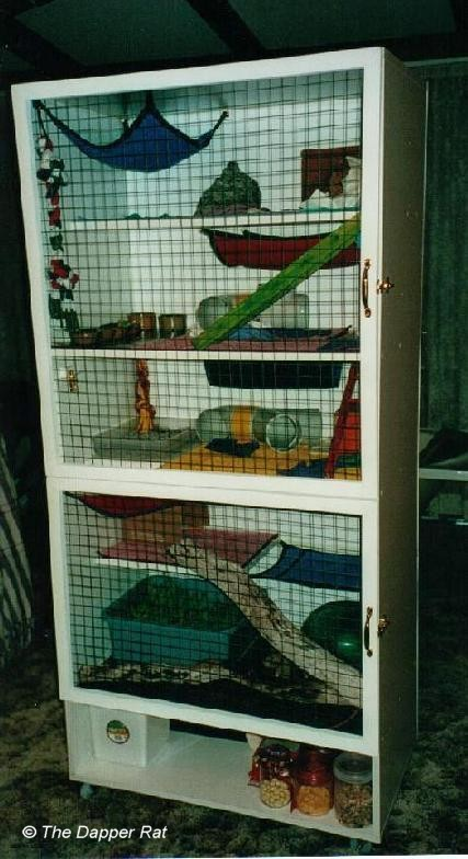 build your own grotto style cage